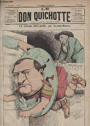Le Don Quichotte N°101, Un césar déclassé.: GILBERT-MARTIN