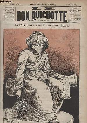 Le Don Quichotte N°123, La paix (projet de statue).: GILBERT-MARTIN