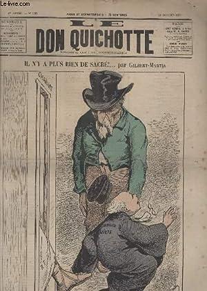 Le Don Quichotte N°135, Il n'y a plus rien de sacré!.: GILBERT-MARTIN