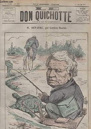 Le Don Quichotte N°188, M.Dufaure.: GILBERT-MARTIN