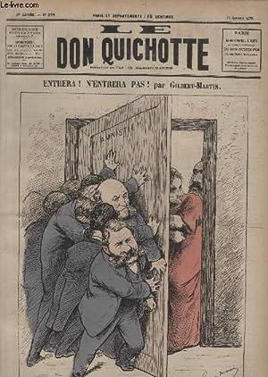 Le Don Quichotte N°278, Entrera, n'entrera pas!: GILBERT-MARTIN