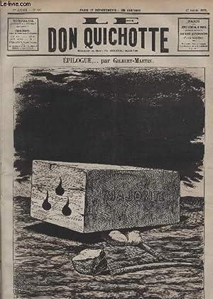 Le Don Quichotte N°397, Epilogue.: GILBERT-MARTIN