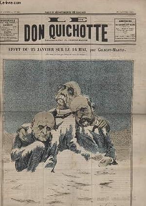 Le Don Quichotte N°554, Effet du 25 janvier sur le 16 mai.: GILBERT-MARTIN
