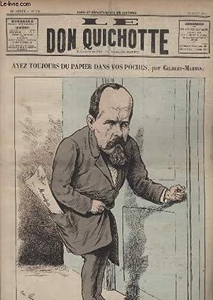Le Don Quichotte N°582, Ayez toujours du papier dans vos poches.: GILBERT-MARTIN