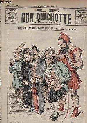Le Don Quichotte N°592, Tous de même longueur!: GILBERT-MARTIN