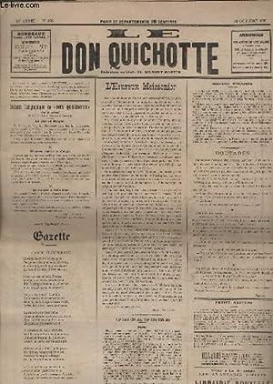 Le Don Quichotte N°593, Carte électorale.: GILBERT-MARTIN
