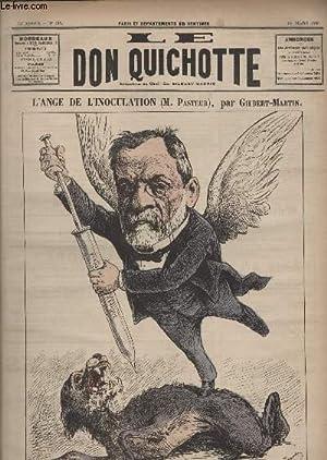 Le Don Quichotte N°612, L'ange de l'inoculation (M.Pasteur).: GILBERT-MARTIN