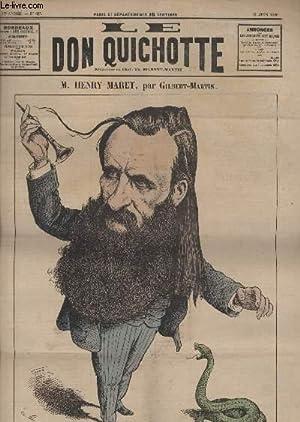 Le Don Quichotte N°625, M.Henry Maret.: GILBERT-MARTIN
