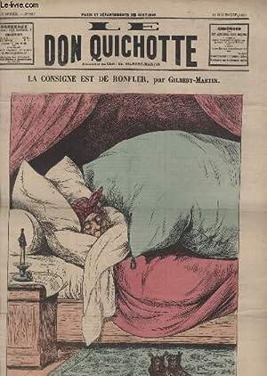 Le Don Quichotte N°652, La consigne est de ronfler.: GILBERT-MARTIN
