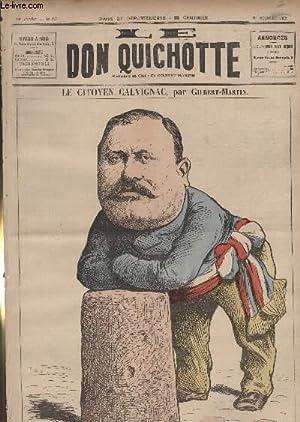Le Don Quichotte N°957, Le citoyen Calvignac.: GILBERT-MARTIN