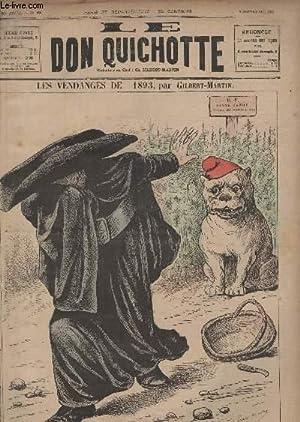 Le Don Quichotte N°998, Les vendanges de 1893.: GILBERT-MARTIN