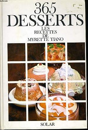 365 DESSERTS: MYRETTE TIANO