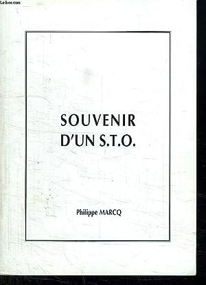 SOUVENIR D UN STO.: MARCQ PHILIPPE.