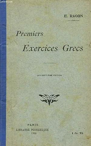 PREMIERS EXERCICES GRECS.: E. RAGON
