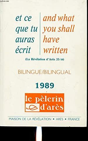 LE PELERIN D ARES 1989 BILINGUE: COLLECTIF