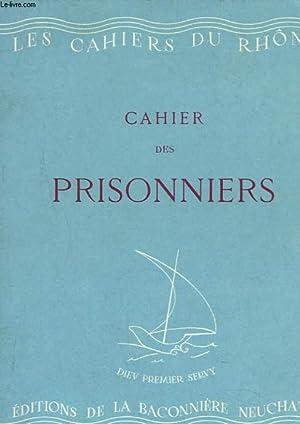 CAHIER DES PRISONNIERS.: COLLECTIF