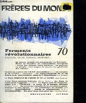 FRERES DU MONDE N° 70. FERMENTS REVOLUTIONNAIRES.: BLAISE M.