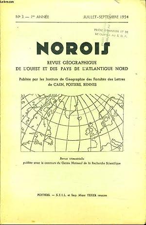 NOROIS (revue géographiques de l'Ouest et des pays de l'Atlantique Nord) n°3 :...