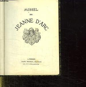 MISSEL DE JEANNE D ARC.: COLLECTIF.