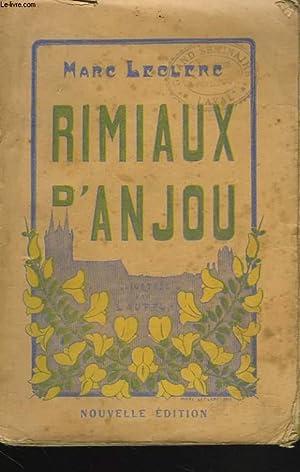 RIMIAUX D'ANJOU: MARC LECLERC