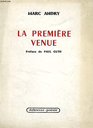 LA PREMIERE VENUE: ANDRY MARC