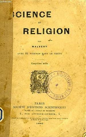 SCIENCE ET RELIGION: MALVERT
