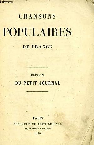 CHANSONS POPULAIRES DE FRANCE: COLLECTIF