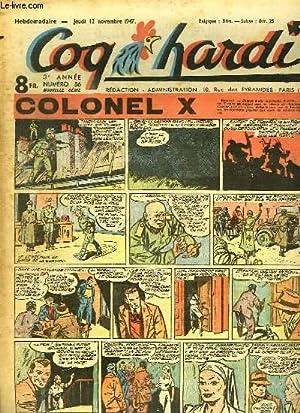 COQ HARDI. 3 EM ANNEE N° 86. COLONEL X.: DUMAS.