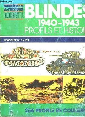 BLINDES 1940 - 1943. PROFILS ET HISTOIRE HORS SERIE N° 4. SOMMAIRE: AUTOMOTEUR ANSALDO FIAT 75 ...