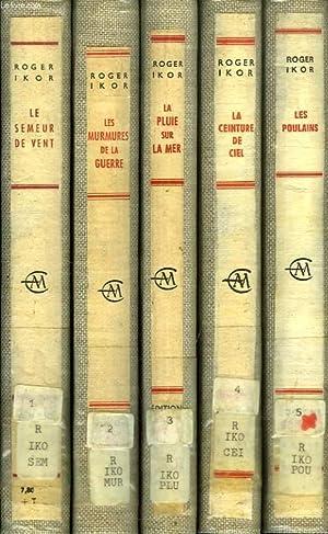 SI LE TEMPS., 5 VOLUMES: IKOR ROGER