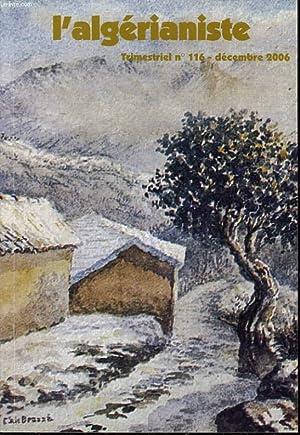 L'ALGERIANISTE n° 116 : Les contre-vérités de: CAMILLE PARA direction