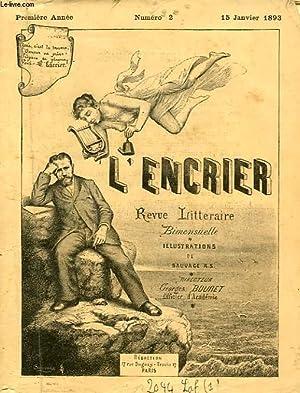 L'ENCRIER, 1re ANNEE, N° 2, 15 JAN. 1893: COLLECTIF