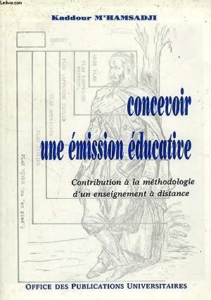 CONCEVOIR UNE EMISSION EDUCATIVE: M'HAMSADJI KADDOUR