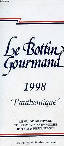 LE BOTTIN GOURMAND: JEAN DIDIER REDACTEUR EN CHEF