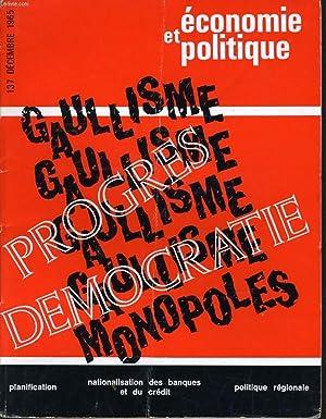ECONOMIE ET POLITIQUE (revue marxiste d'économie) n° 137 : Progrès dé...