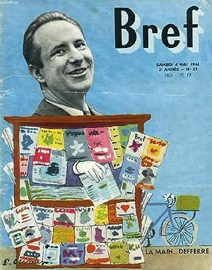 BREF, 2e ANNEE, N° 25, MAI 1946: COLLECTIF