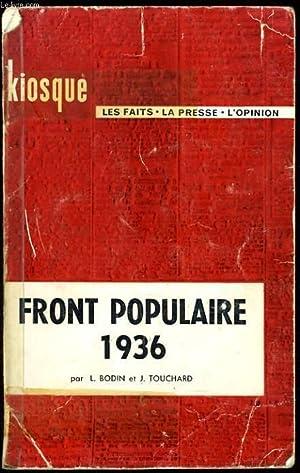 FRONT POPULAIRE 1936: L. BODIN & J. TOUCHARD
