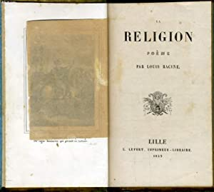 LA RELIGION poème: LOUIS RACINE