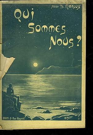 QUI SOMMES NOUS ?.: MOREUX ABBE TH.