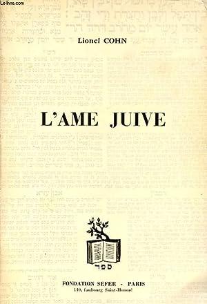 L AME JUIVE: LIONEL COHN