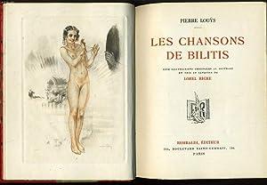 LES CHANSONS DE BILITIS: PIERRE LOUYS