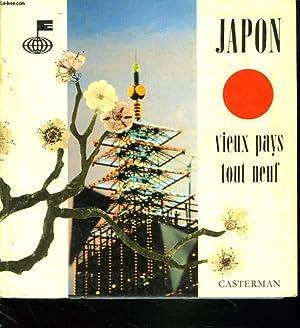 JAPON. VIEUX PAYS TOUT NEUF. L'HUMANITE EN MARCHE. LES TECHNIQUES D'AUJOURD'HUI. LES...