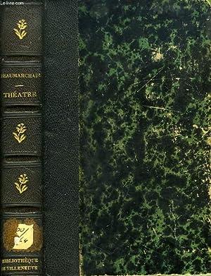 THEATRE DE BEAUMARCHAIS, SUIVI DE SES POESIES DIVERSES: BEAUMARCHAIS, Par SAINTE-BEUVE M.