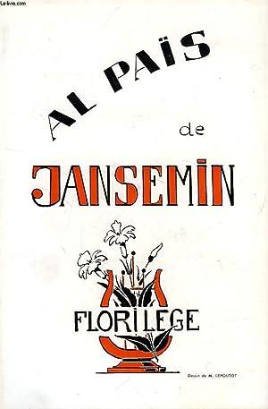 AL PAÏS DE JANSEMIN, FLORILEGE: COLLECTIF