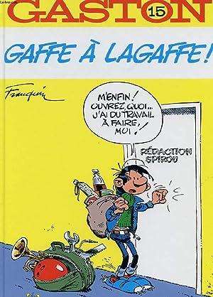 GASTON N°15. GAFFE A LAGAFFE: FRANQUIN