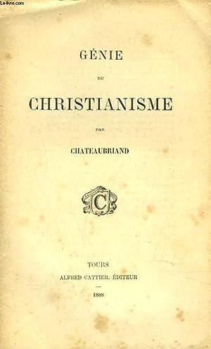 GENIE DU CHRISTIANNISME: CHATEAUBRIAND