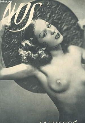 NUS (album de photos noir et blanc, femmes nues) N°1: MANASSE