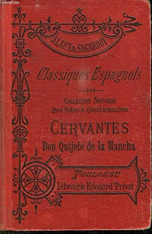 CLASSIQUES ESPAGNOLS. CERVANTES. D QUICHOTE DE LA MANCHA NOVELAS EJEMPLARES. HUITIEME EDITION.: ...