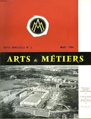 ARTS ET METIERS. REVUE MENSUELLE N°3, MARS 1964. L'ATTELAGE AUTOMATIQUE EUROPEEN par A. ET...