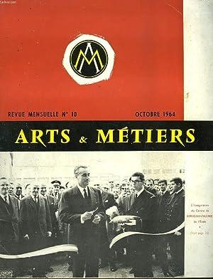 ARTS ET METIERS. REVUE MENSUELLE N°10, OCTOBRE: COLLECTIF